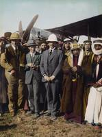 On the Aerodrome at Amman,  T.E. Lawrence, Sir Her