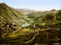 River valley, Montenegro, ca. 1895