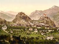 Sion, Valais, Switzerland, ca. 1895