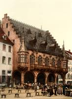 The market hall, Freiburg, Baden, Germany, ca. 189