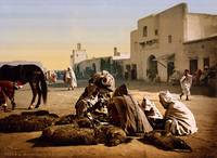 The market, Kairouan, Tunisia, ca. 1899