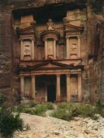 The Treasury, Petra, Jordan, by the American Colon