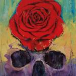 """Skull Rose"" by creese"