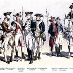 """Uniforms in the American Revolutionary War"" by WilshireImages"