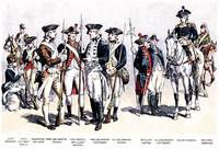 Uniforms in the American Revolutionary War