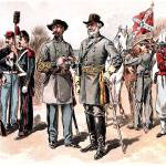 """Confederate Uniforms American Civil War"" by WilshireImages"