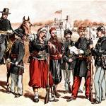 """Civil War Uniforms Of The United States Troops"" by WilshireImages"