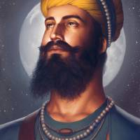 Dashmesh Pita - Guru Gobind Singh ji Art Prints & Posters by Bhagat Bedi