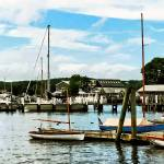 """Essex CT Marina"" by susansartgallery"