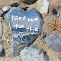 Take Me To The Sea Art Prints & Posters by Nina Bradica