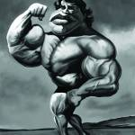 """Arnold ""Strong"" Schwarzenegger"" by nelson"