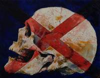 Skull with Cross
