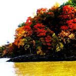 """Fall on Grand Lake"" by vineyard"