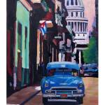 """Poster Havana Cuba Street Scene Oldtimer Retro"" by arthop77"