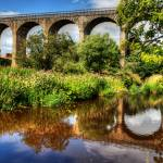 """Avon Viaduct Reflections"" by TomGomez"