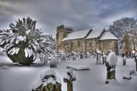 St Cuthbert's in the Snow