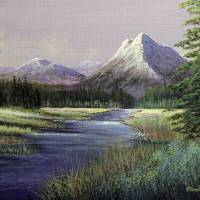 Garden Valley Meadow Art Prints & Posters by Rich Summers Art