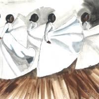Dancing Women Art Prints & Posters by Christina O. Birch