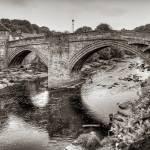 """""""County Bridge B&W"""" by TomGomez"""
