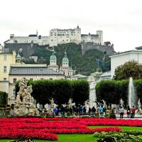 Salzburg Gardens Art Prints & Posters by Robert Meyers-Lussier