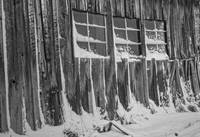 Snowy Windows, Ghost Town of Bodie