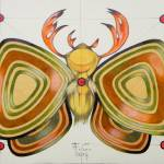 """deer moth (original sold)"" by federicocortese"