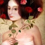 """""""Der Blumenstrauss"""" by Catrin-Stein"""
