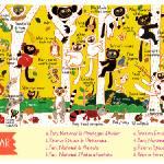 """Wildlife of Madagascar by Aunyarat Watanabe"" by TheyDrawandCook"