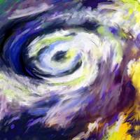 Abstract Storm Hurricane Clouds
