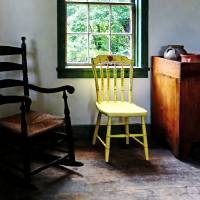 Two Chairs in Kitchen Art Prints & Posters by Susan Savad