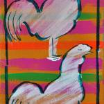 """""""Feathers & Stripes 3"""" by gascot"""