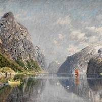 Adelsteen Normann, (1848 - 1918, Norway), Norwegia Art Prints & Posters by Adam Asar