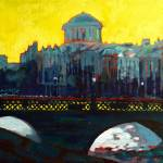 """Grattan Bridge, Four Courts - Dublin"" by irishkc"