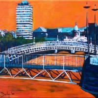 Liffey Bridges, Dublin Art Prints & Posters by Eolaí gan Fhéile