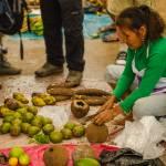 """""""Woman Preparing Fruit in Market"""" by awsheffield"""