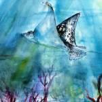 """Underwater World Tropical Ocean"" by GinetteCallaway"