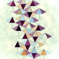 Umbrella Geometrics by Lisa Rich