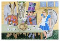 Alice In Wonderland; The Tea Party