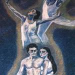 """""""1984 fineart pastels ballet dancers"""" by CAMProductions"""