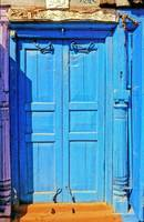 Blue and Purple Door