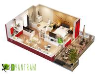 Home 3D Floor Plan