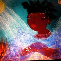 My Warrior Angel With Color (Angel Series)