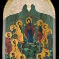 Pentecost Icon Art Prints & Posters by Christen Mattix
