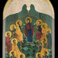 Pentecost Icon Art Prints & Posters by Christen Mattix