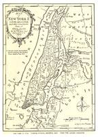 Vintage Map of New York City (1893)