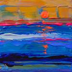 """Return To Ocean Beach 2015 abstract"" by BeaconArtWorksCorporation"