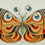 """four eyes butterfly"" by federicocortese"