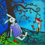 """""""What the Rabbit Knows"""" by juliryan"""