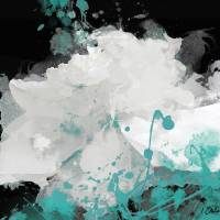 Majesty Turquoise Art Prints & Posters by Irena Orlov