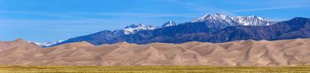 Great Sand Dunes National Park Panorama